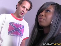 Gangbang and DP with Tatiyana Foxx