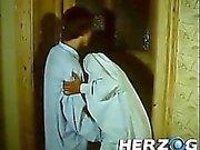 Bavarian boy and gal voyeurs peep a couple fucking