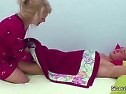 Mom Wake Up 18yr old Step-Son to Fuck