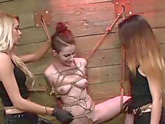 Mistress finger tied sub