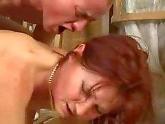 Granny anal porra