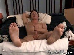 Football boy stripped gay Gorgeous Fitch & His Big Feet