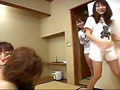 Japanische Mädchen Zeige Azusa