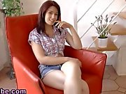 Beautiful teen blows her rich boyfriend