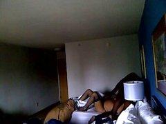 Truffando moglie nella camera d'albergo