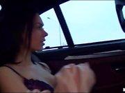 Petite teen Sheri Vi screwed in the car
