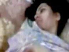 Impresionantes gemidos desnuda Paksitani Punjabi su polvo, audio Hindi