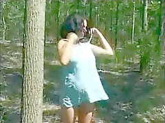 Pregnant And Horny Bitch Takes Good Fuck Outdoors