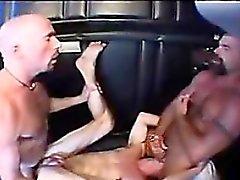 Hardcore Homosexuell Flotter Dreier