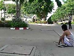 Badminton großen Hahn