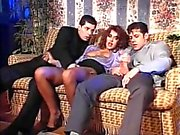 Italienisch Schlampe Andrea Valente weinlese threesome & DP