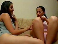 lesbiana Mexicana convence a primeriza
