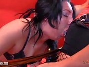 Hot Milf Strapon Jane makes slut with big sexy ass cum fucking her like whore