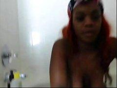 Black Ebony Masturbation Webcam Sehr cremig