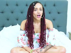 TeenyBlack - Exotique Ebony Teen rempli de bite