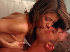 Sensual sex with Latina girl Veronica Rodriguez