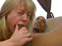 Huge black cock makes Nicole gag