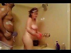 Spiare il mio sesso da doccia
