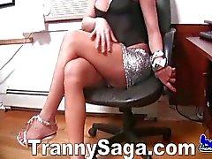 Bañera Transexual no operado Bebé de Desnuda Con Los Verga Grande