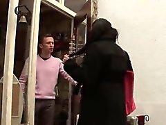 BBW Arab enormen boobed harten After durchgefickt outdoor