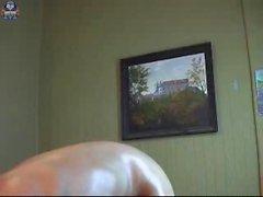 Desi aunty showing big boobs on webcam