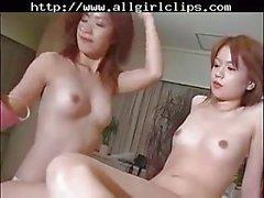 Japanese Lesbians Dirty Game