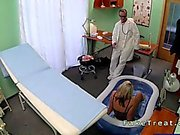 Doctor fucks sexy busty pregnant blonde