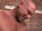 Süper Seksi , kaslı aygır , Chad Brock ziyaret kasabasında yapıldı