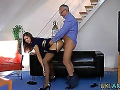 British mature nailed