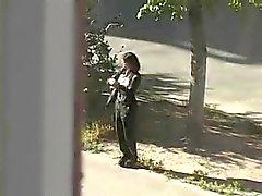 Moglie russa set una telecamera nascosta per il marito