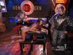 Tabitha Stevens in the Robospanker - Howard Stern Show