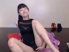 Amateur Asian Webcam Strip Masturbation
