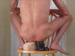 Двухместный траханье задницы а Большее лучше