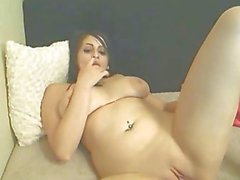 Big Titties College Girl Masturbating