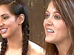 Isis Love Alicia Stone and Sienna Hardcore Bondage