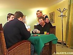 Elsa Kryss Wife fucked by two husband friend