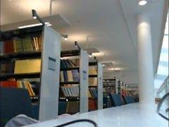 Menina Flash biblioteca ficar preso