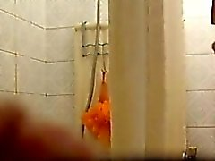 my horny stepsis 19 spied in the shower