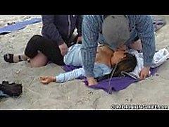 Chorreo De Leche Sexo en Grupo en playas de pública