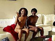 Ebony lesbians naked bts