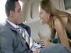 Hottie fucked in limousine - sibel18 com