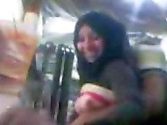 ARABISCHE - hidschaab Mädchen mit ihrem Bf in Arbeits