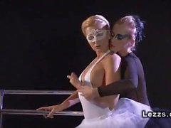 Sensual Lesbian Ballet Erotica