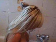 Blondsweety Toilet fucked