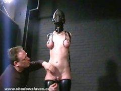 Sensorial Slaveslut privados cereza Torns fetiche de cuero y extremas BDSM