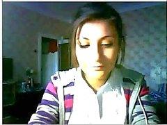 Web kamerası güzel Rus kız