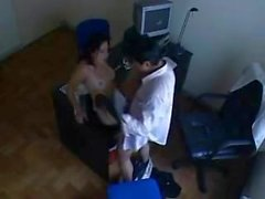 Indian Sekretärin ficken mit ihrem Chef in Office Versteckte Kamera SEX