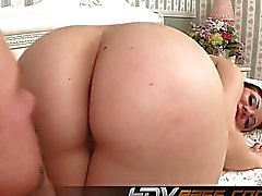Babe Rose riding dick with her awesome big ass