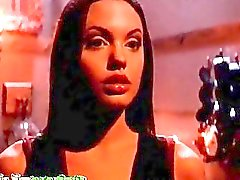 Angelina Jolie compilation of bare moments