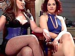 Mistress Kara and Ingrid Mouth